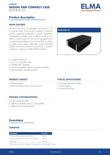 Elos Box 54_Datasheet_E