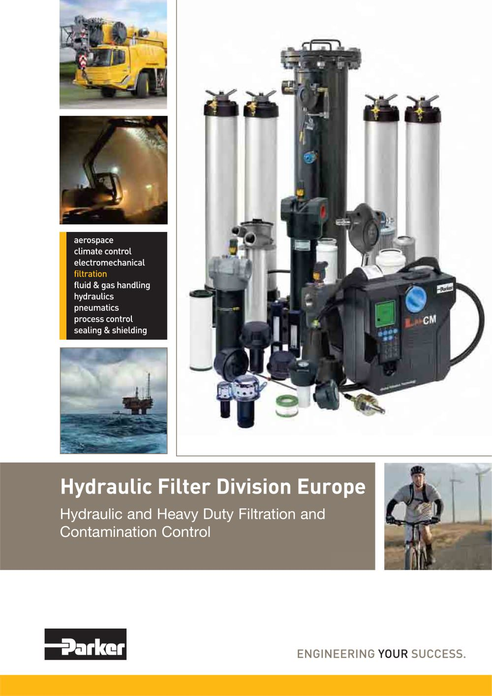 Parker hydraulic filter unit