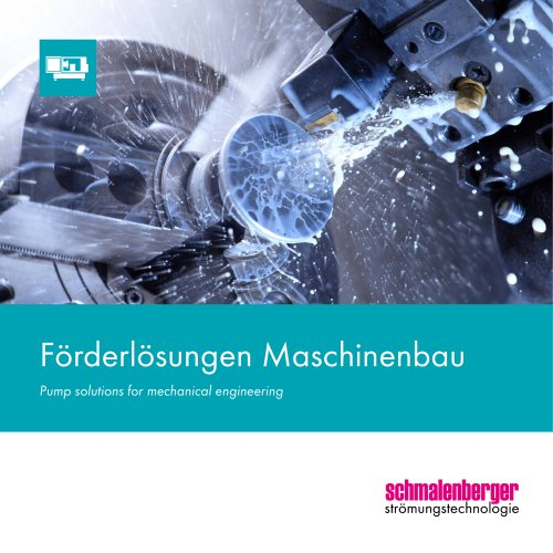Delivery solutions for mechanical engineering