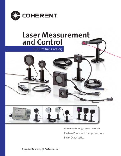 2013 Laser Measurement and Control Catalog