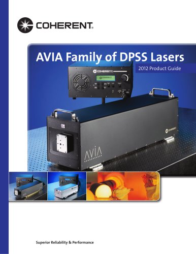 AVIA Family of DPSS Lasers