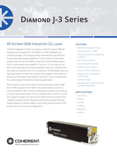 Diamond J-3 Series