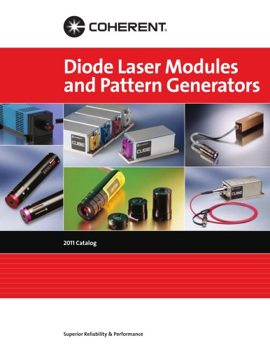 Diode Laser Modules and Pattern Generators