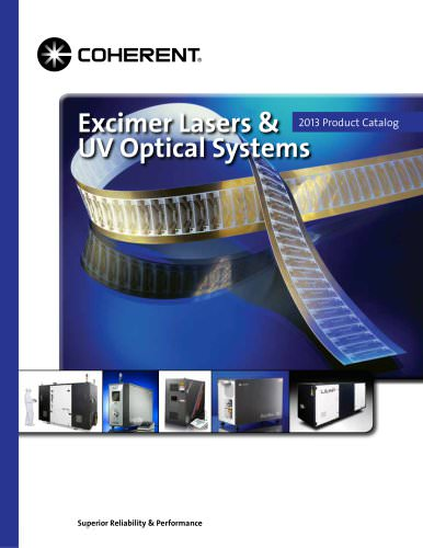 Excimer Lasers & UV Optical Systems