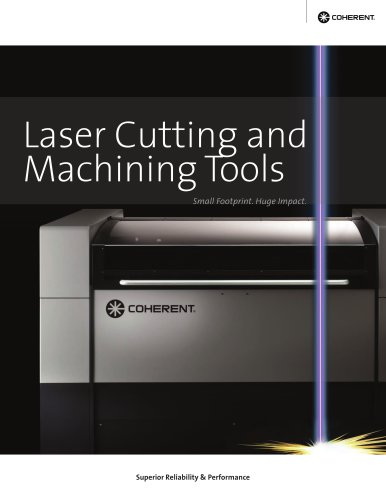 Laser Cutting and Machining Tools