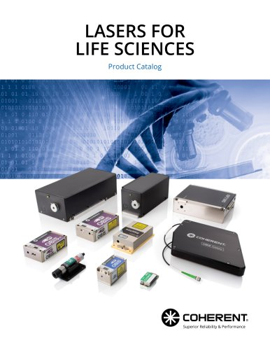 Laser for life sciences product catalog 2020