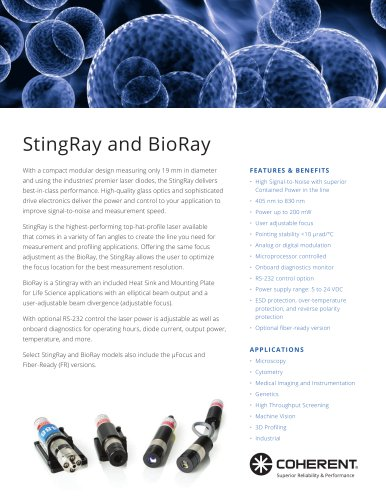 StingRay and BioRay
