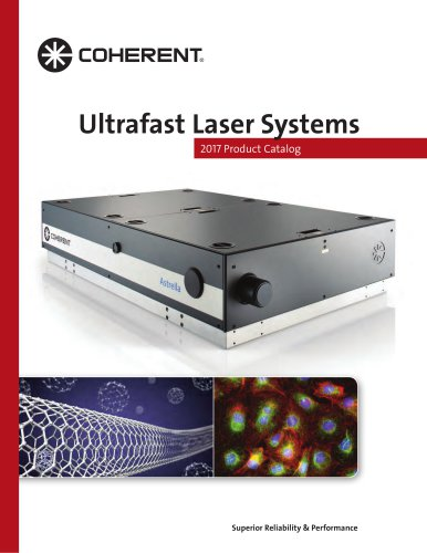 Ultrafast Laser Systems