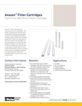 Avasan Filter Cartridges