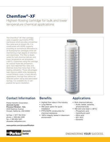Chemflow-XF Filter Cartridges
