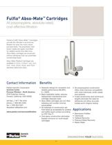 Fulflo Abso-Mate Cartridges