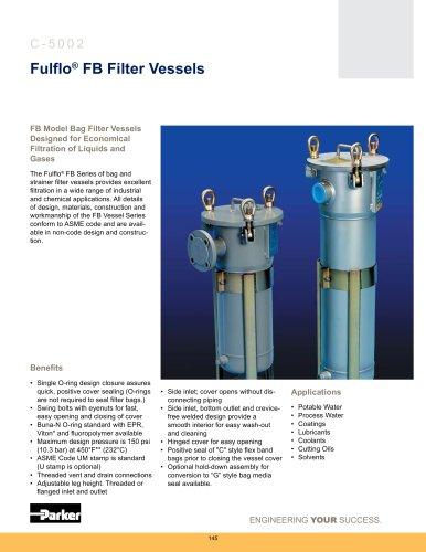 Housings - Fulflo FB Filter Vessels