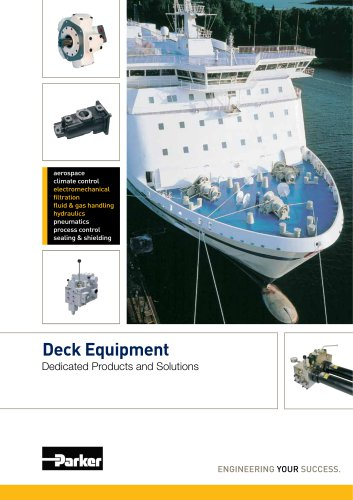 Deck Equipment --Deck Equipment