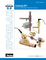 Condensed Catalog of Sporlan Products