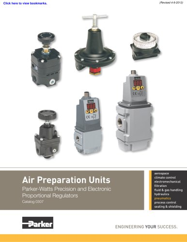 Precision and Electronic Proportional Regulators
