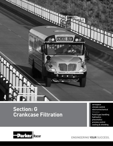 Section: G Crankcase Filtration