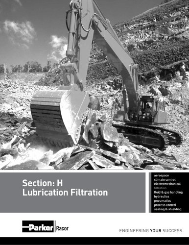 Section: H Lubrication Filtration
