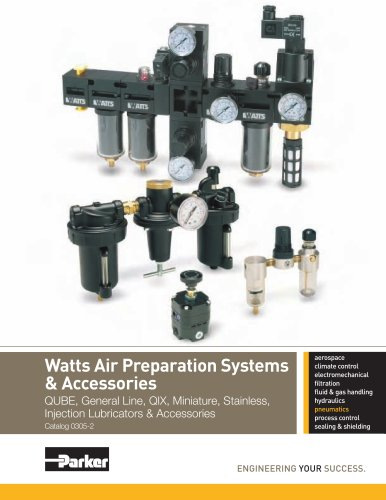 Watts Air Preparation Systems & Accessories