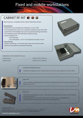 CABINET RF INT