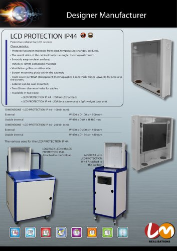 LCD PROTECTION IP 44