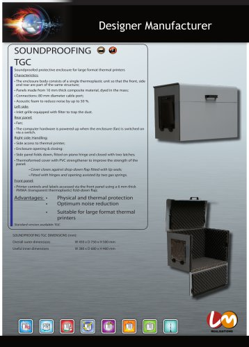 SOUNDPROOFING TGC