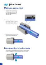 Cartridge Systems A simple cost effective way of securing tubes within your product - 10