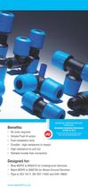 JG Speedfit® Blue - A new improved range of Push Fit Fittings for Cold Water Services - 3
