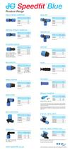 JG Speedfit® Blue - A new improved range of Push Fit Fittings for Cold Water Services - 5