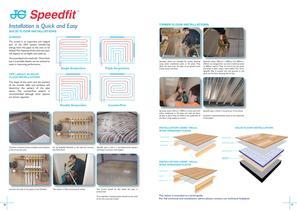 JG Speedfit ® Underfloor Heating Systems - Energy Saver Manifold System - 11
