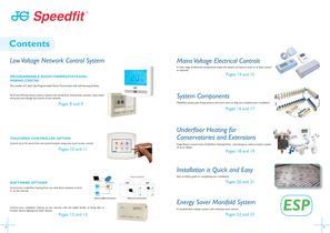JG Speedfit ® Underfloor Heating Systems - Energy Saver Manifold System - 3