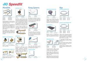 JG Speedfit ® Underfloor Heating Systems - Energy Saver Manifold System - 9