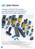 The Push-fit Solution for Blown Fibre & Cable Systems - 4