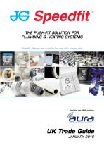 THE PUSH-FIT SOLUTION FOR PLUMBING & HEATING SYSTEMS - 1