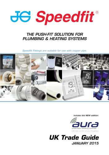 THE PUSH-FIT SOLUTION FOR PLUMBING & HEATING SYSTEMS