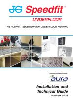 THE PUSH-FIT SOLUTION FOR UNDERFLOOR HEATING - 1