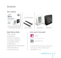Wireless Thermostats - 2