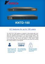 IP PBX SIP Server KNTD-100