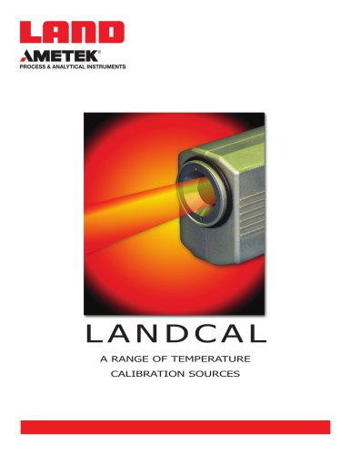 Landcal Calibration Sources
