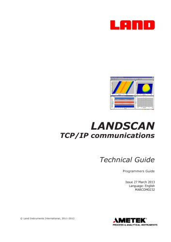 LANDSCAN TCP/IP Communications