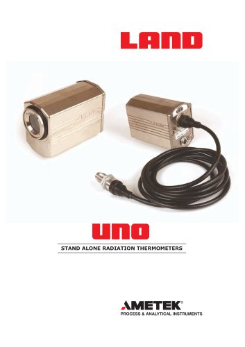 UNO -Stand alone radiation thermometers