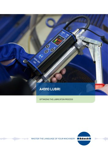 Lubrication process instrument A4900 Lubri