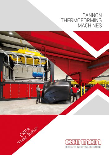 CANNON THERMOFORMING MACHINES