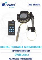 SUBMERSIBLE OIL/WATER CONTROLLER OWM-250.2