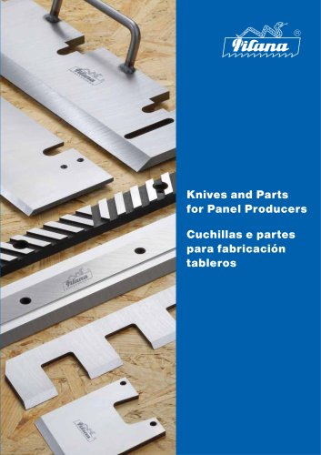 Knives and Parts for Panel Producers