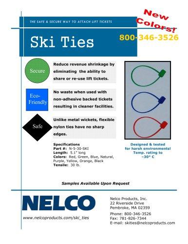 ski ties