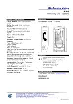 A103 Intrinsically Safe Telephone - 2