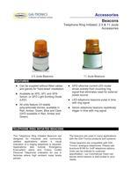 Beacons (Industrial): 2.5 & 11 Joule - Telephone Ring Initiated - 1