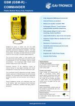 Commander GSM (GSM-R) - 1