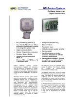 Drillers Digital Intercom System - 1