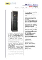 Elemec3 - digitally controlled PA and General Alarm system PA/GA - 1